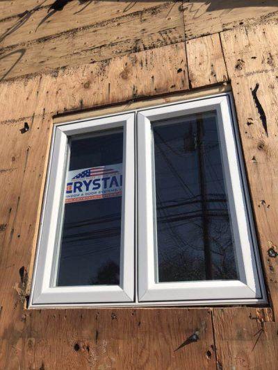 Casement Crystal window installation