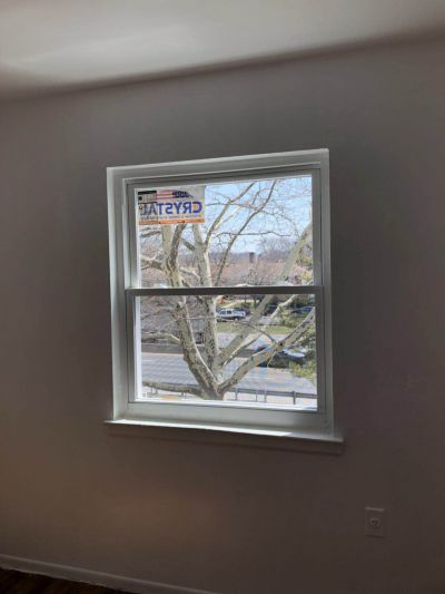 Crystal window replacement