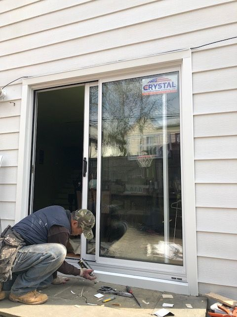 Crystal Patio Door replace in Massapequa, NY