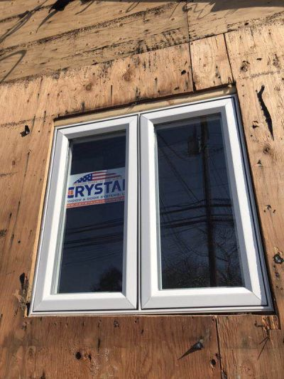 Casement Crystal window installation