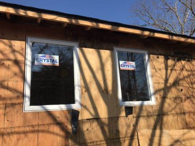 Long island house casement Crystal window replacement