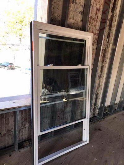 Crystal window Bronx house
