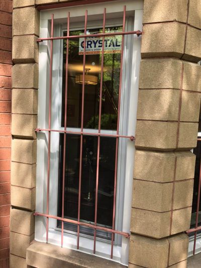 Crystal windows installation