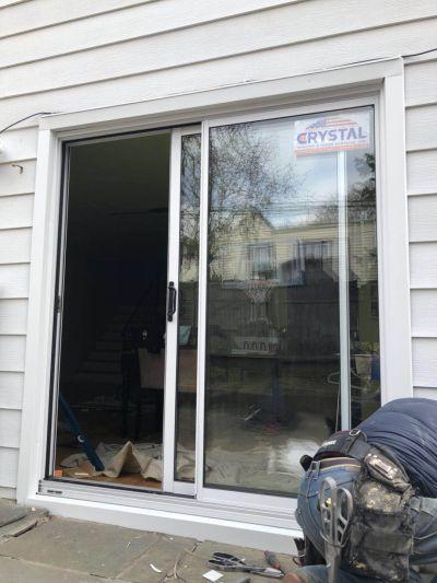 Crystal patio door replacement
